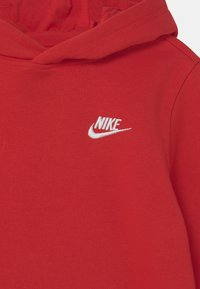 Nike Sportswear - HOODIE CLUB - Hoodie - university red/white - 2