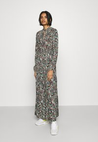 ONLY - ONLVICK ANKEL DRESS - Maxi dress - night sky/beat bloom kalamata - 0