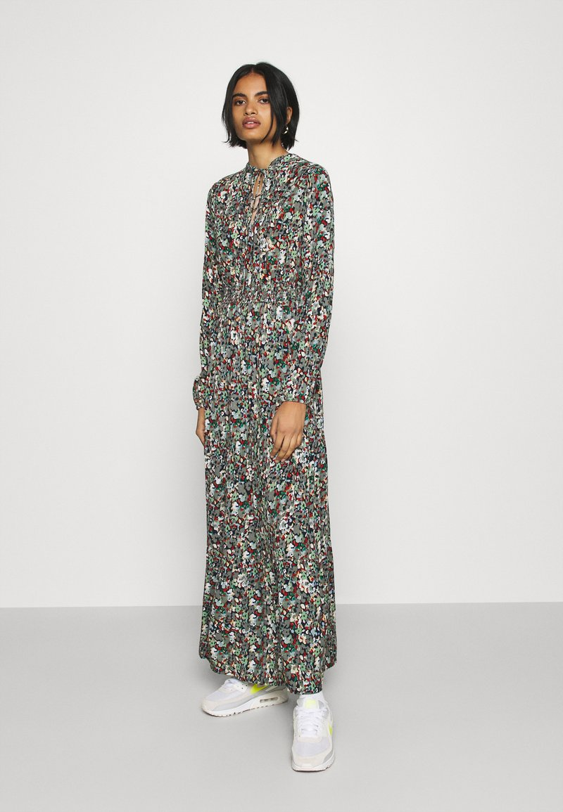 ONLY - ONLVICK ANKEL DRESS - Maxi dress - night sky/beat bloom kalamata