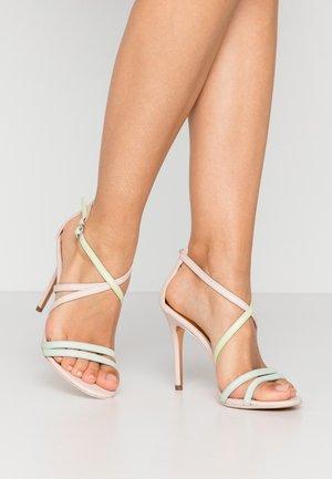 ORALIAL - Sandály na vysokém podpatku - baby pink