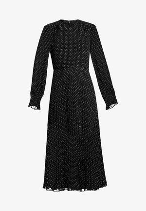 PLEATED DRESS - Day dress - black