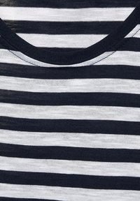 Street One - IM STREIFEN - Print T-shirt - blau - 4