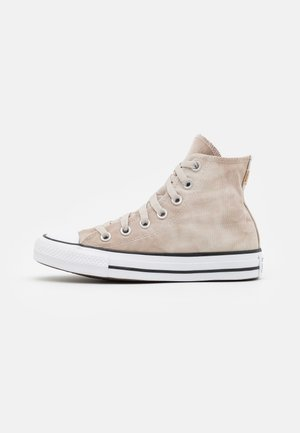 CHUCK TAYLOR ALL STAR SUMMER DAZE UNISEX - Korkeavartiset tennarit - string/white/honey