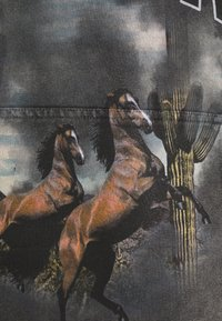 Jaded London - ARIZONA SCREEN HOODIE - Felpa con cappuccio - charcoal - 2
