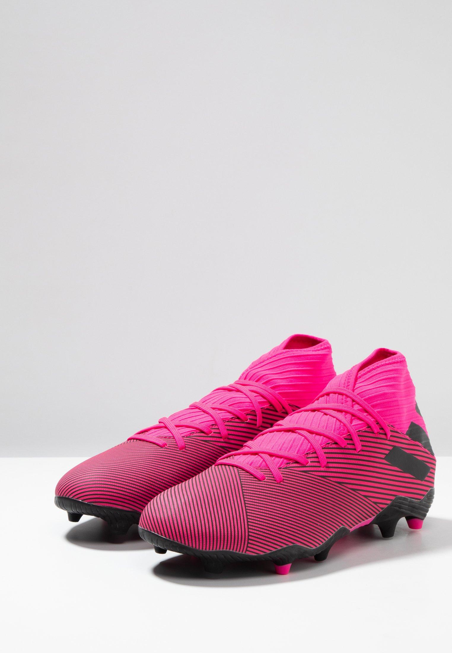 Adidas Performance Nemeziz Football Boots Firm Ground - Voetbalschoenen Met Kunststof Noppen Shock Pink/core Black