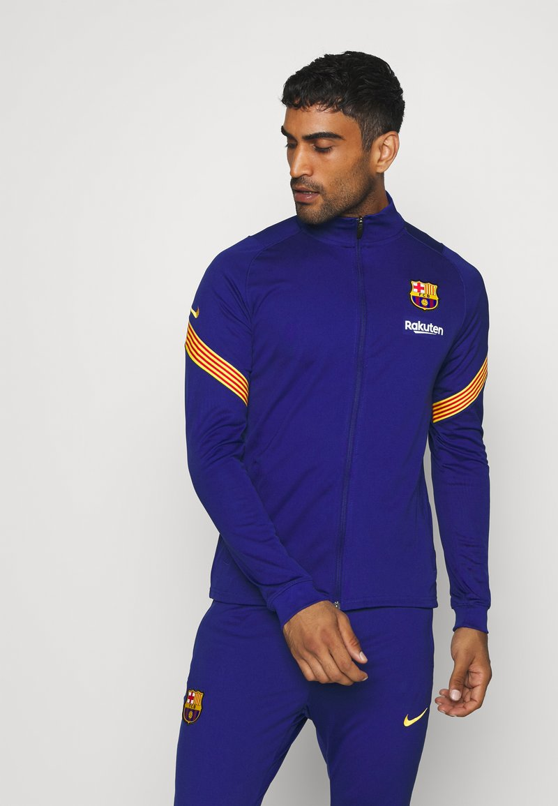 Nike Performance - FC BARCELONA DRY SUIT  - Equipación de clubes - deep royal blue/amarillo