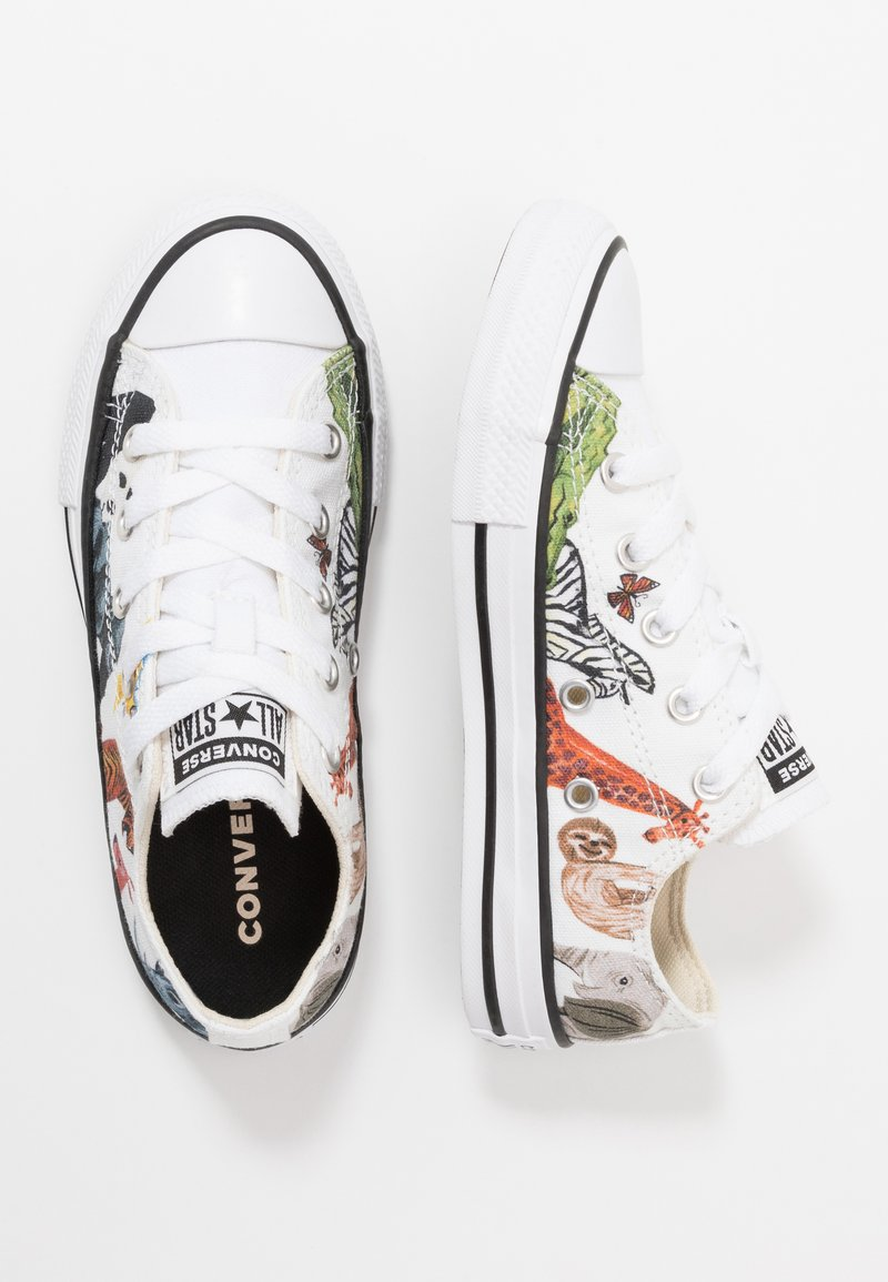 Converse - CHUCK TAYLOR ALL STAR - Trainers - white/natural ivory/black
