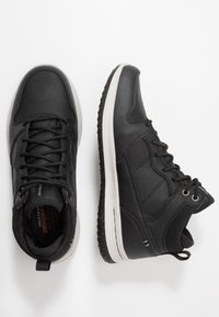 Skechers - DELSON - High-top trainers - black - 1