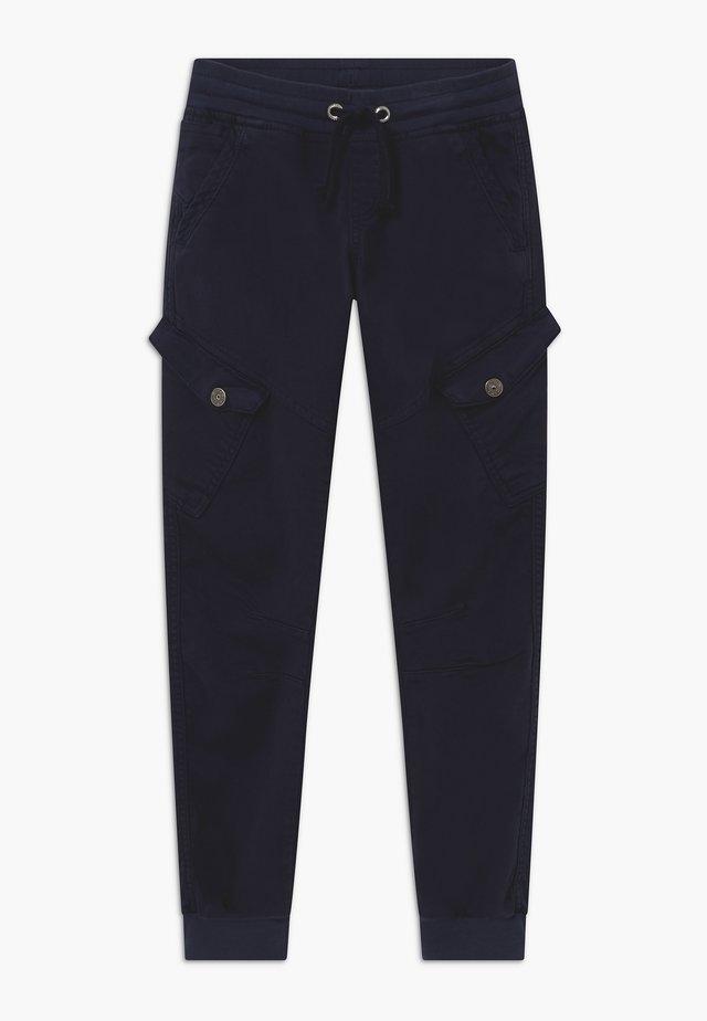 BOYS CARGO STREETWEAR - Pantaloni sportivi - nachtblau reactive