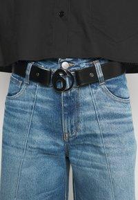 MM6 Maison Margiela - CINTURA - Waist belt - black/blue - 0