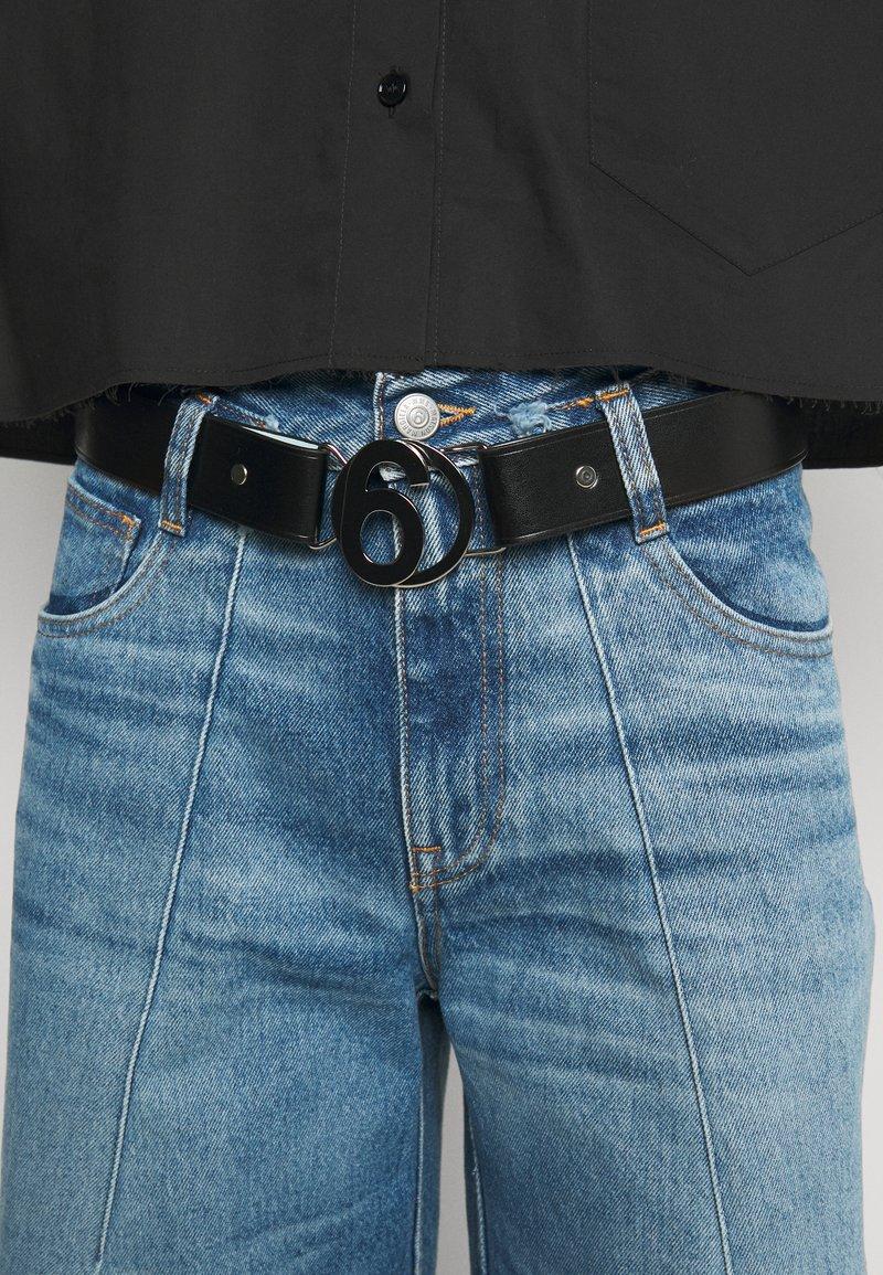 MM6 Maison Margiela - CINTURA - Waist belt - black/blue