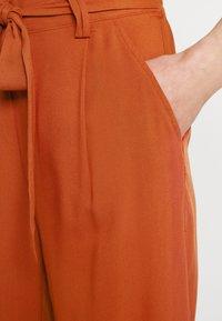 ONLY - ONLNOVA LIFE CROP PALAZZO PANT - Trousers - arabian spice - 3