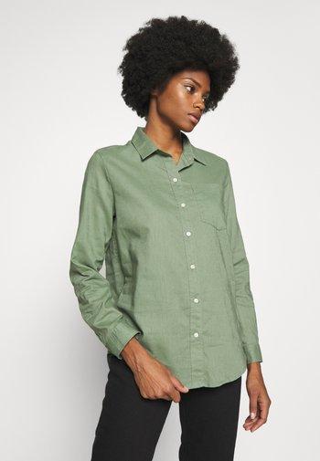 Button-down blouse - twig