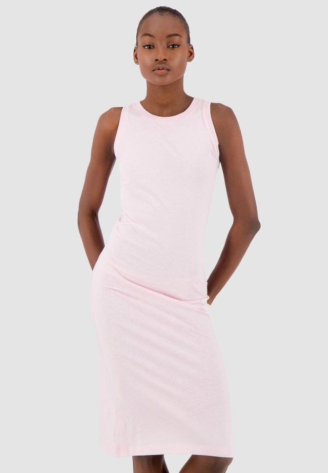 Sukienka z dżerseju - pink