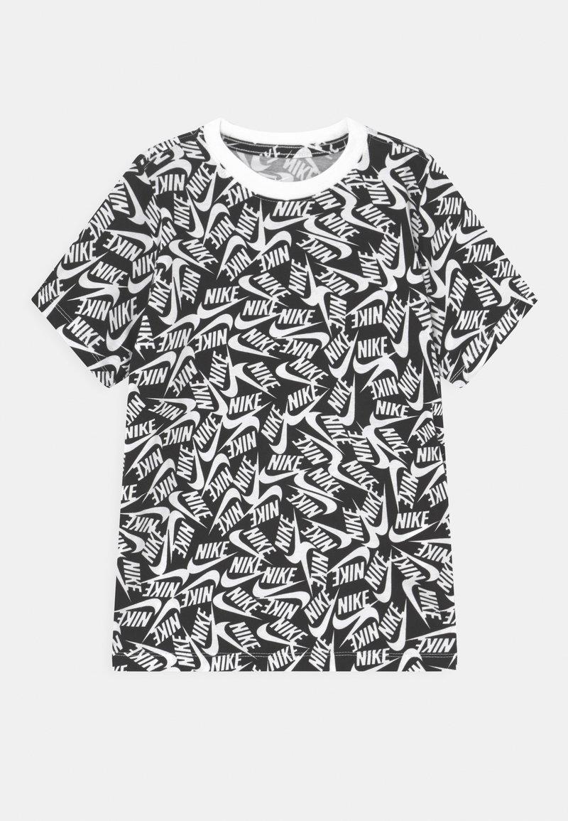 Nike Sportswear - TEE FUTURA - T-shirt con stampa - black/white