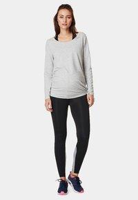 Noppies - HEATHER - Long sleeved top - grey melange - 1