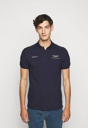 AMR CUT LINES - Poloshirt - navy