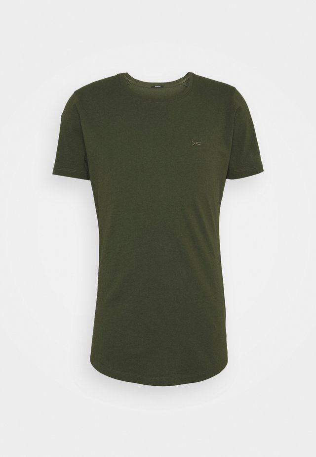 LUIS TEE - T-shirt - bas - olive