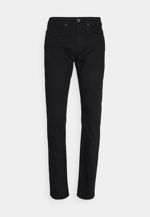 HOMME - Slim fit jeans - noir