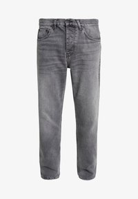 Carhartt WIP - NEWEL PANT MAITLAND - Relaxed fit -farkut - black worn washed - 4