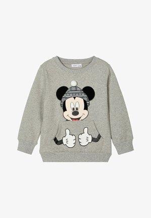 MICKEY MOUSE - Sweatshirt - grey melange