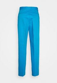 GCDS - ARCHIVE PANTS - Pantalon classique - diva blue - 1