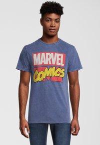 Re:Covered - MARVEL COMICS - T-shirt print - blau - 0