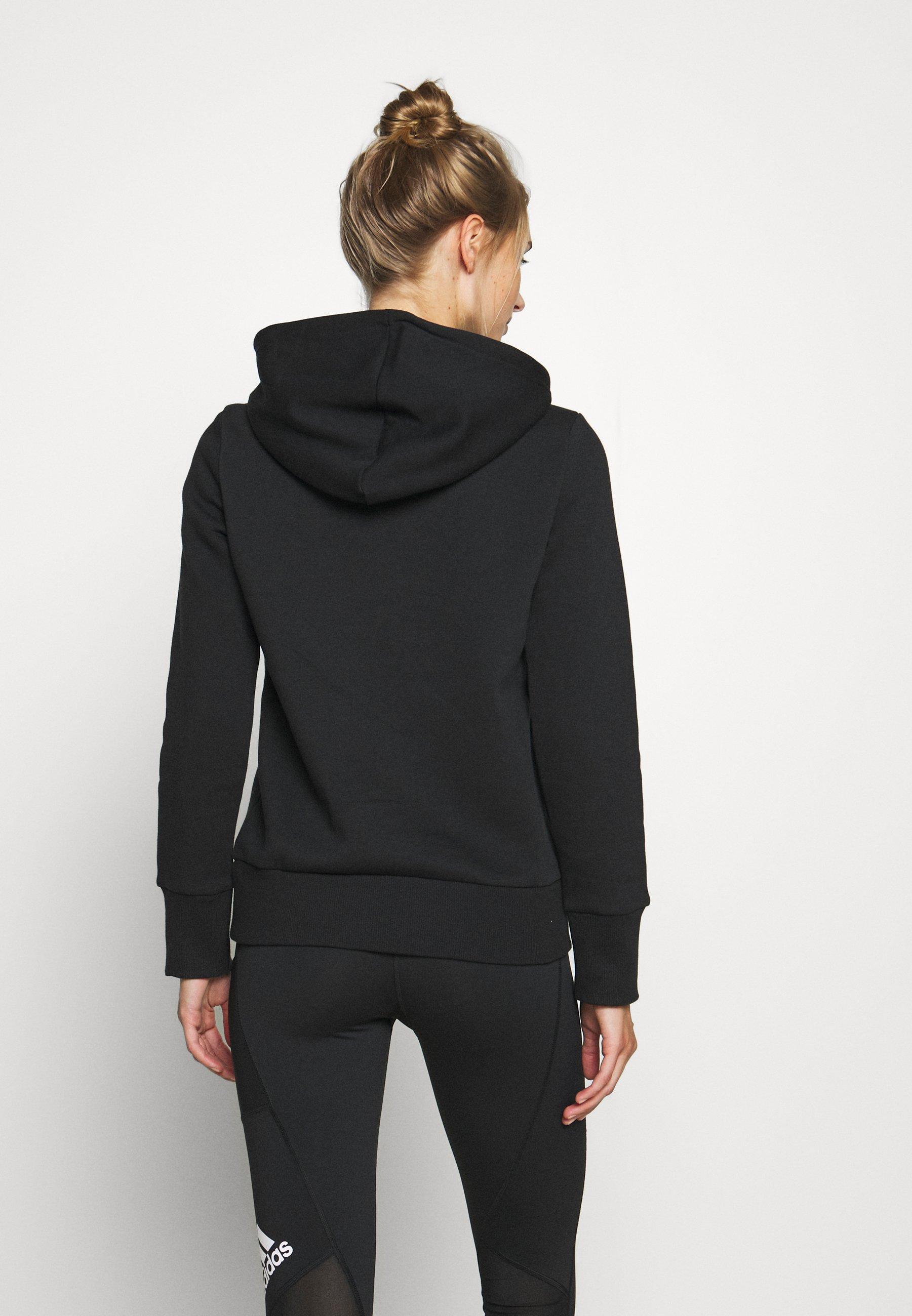 adidas Performance Hoodie - black t3qyn