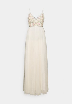 EMMA DITSY BODICE CAMI MAXI DRESS - Occasion wear - champagne