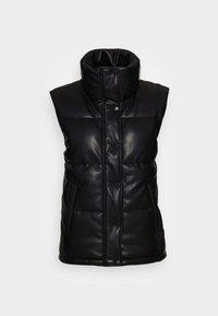 DUVET PUFFER VEST - Waistcoat - black