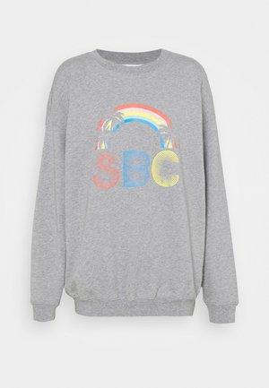 Sweatshirt - limestone grey