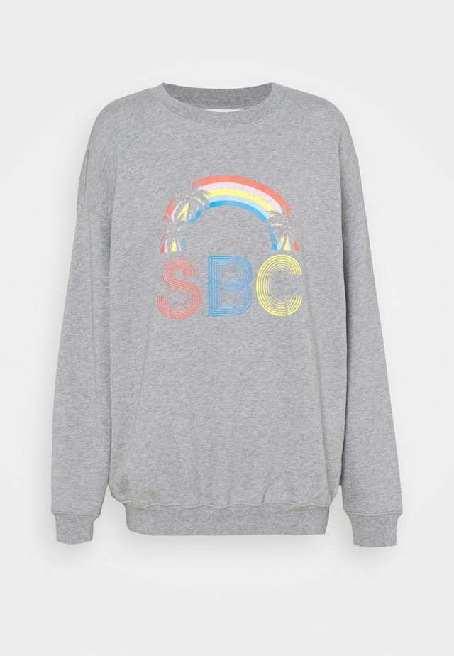 Sweatshirt - limestone grey
