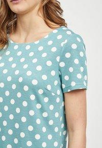 Vila - VITINNY - Shift dress - turquoise - 3