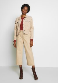 JDY - JDYKIRAZ JACKET  - Summer jacket - light brown - 1