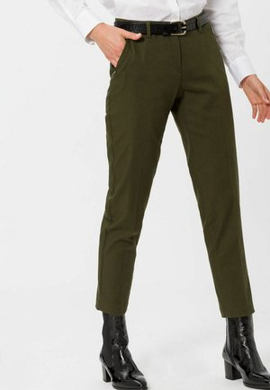 STYLE MARON - Trousers - DARK OLIVE