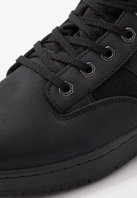 Fila - KNOX MID - High-top trainers - black - 5