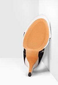 Only Maker - Lace-up ankle boots - black denim - 5