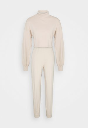 WATCH OUT SET - Tracksuit - creme