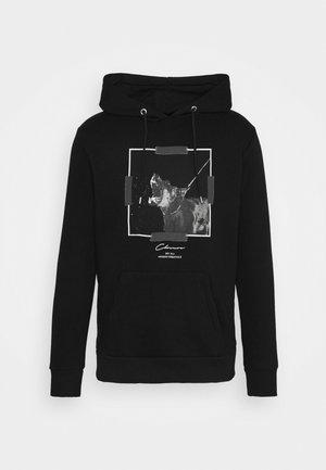 DOBERMAN HOODY - Sweatshirt - black