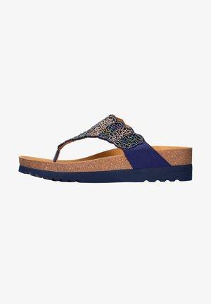 TANISHA - Sandalen met sleehak - blau