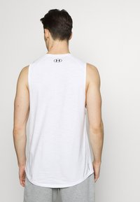 Under Armour - UA CHARGED - Funktionsshirt - white/black - 2