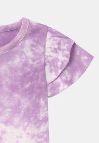 Cotton On - FLEUR FLUTTER SLEEVE 2 PACK - Print T-shirt - summer violet/cali pink - 3