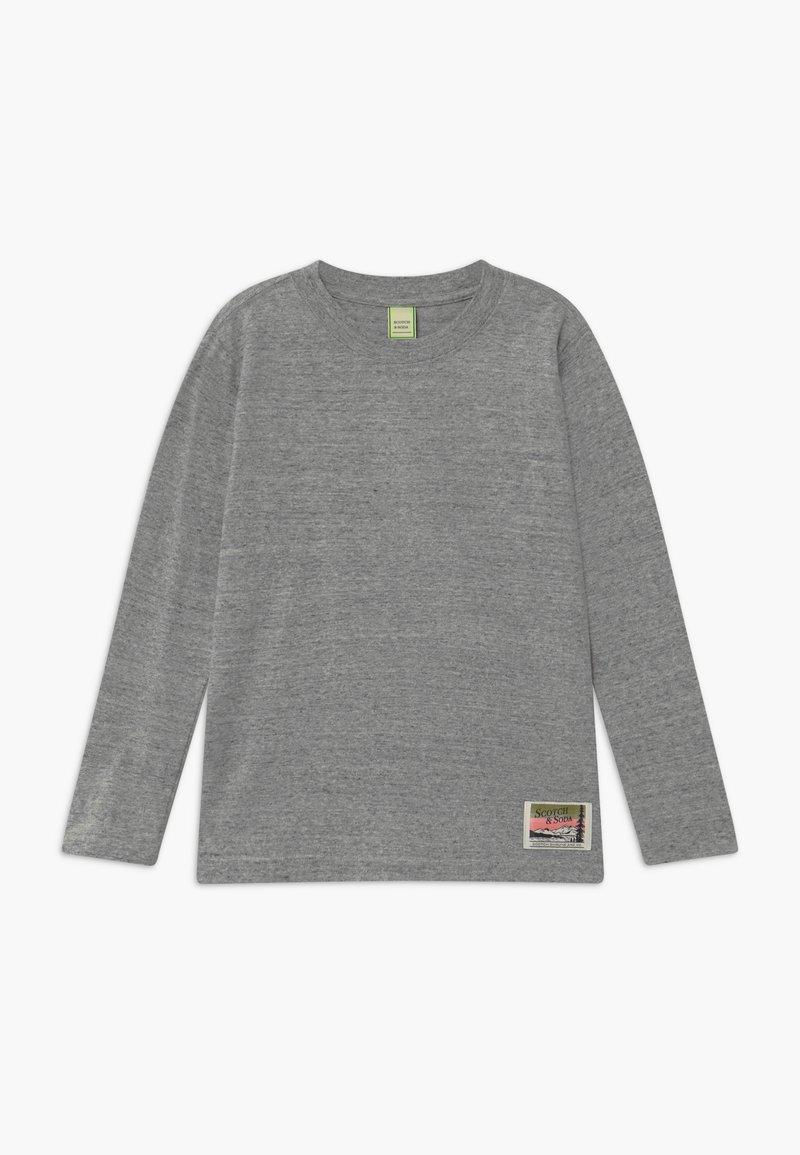 Scotch & Soda - ARTWORKS - Long sleeved top - grey