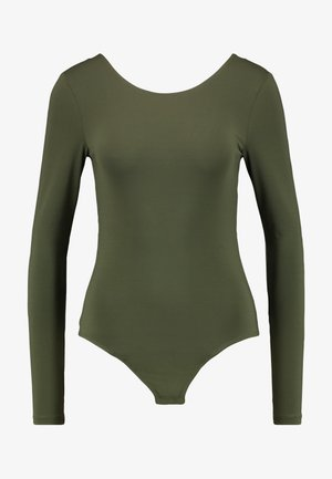 PCHENRIETTA BODYSTOCKING - Long sleeved top - forest night