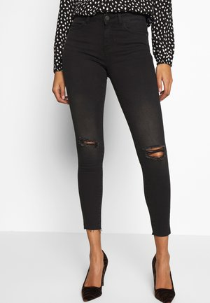 NMLUCY  - Jeansy Skinny Fit - black denim