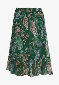 JDYRUFUS  - A-line skirt - green gables