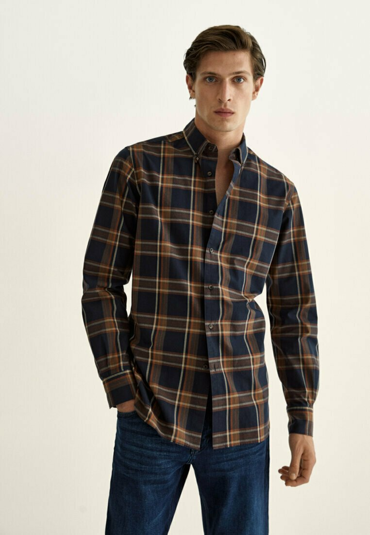 Massimo Dutti - Shirt - brown