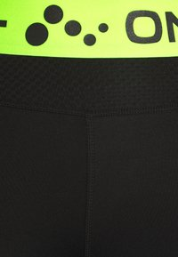 ONLY PLAY Tall - ONPJACEI ATHL TIGHTS TALL - Leggings - black saftey yellow - 2