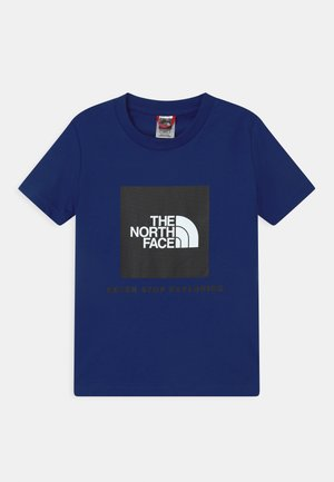 BOX UNISEX - T-shirt z nadrukiem - bolt blue