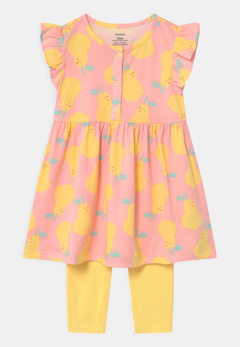 Carter's - PEAR - Legging - light pink/yellow